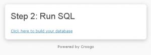 Screenshot: Run SQL